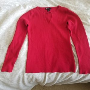 I.N.C. Gently worn Red sweater.